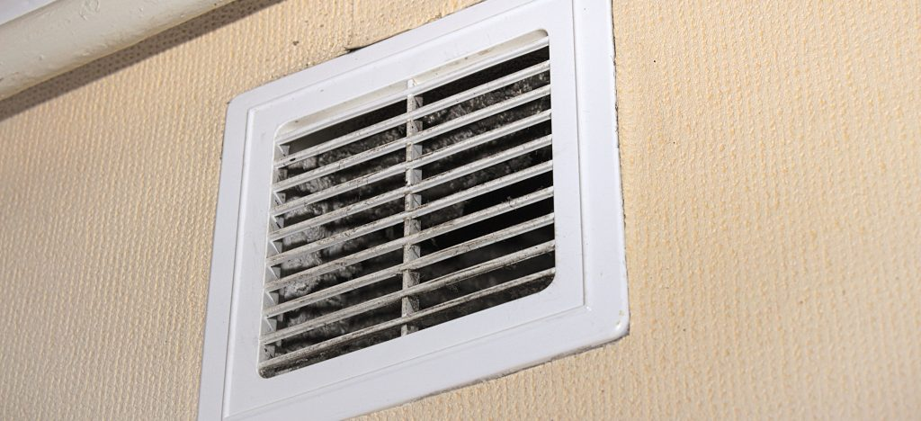 Air vent in a home