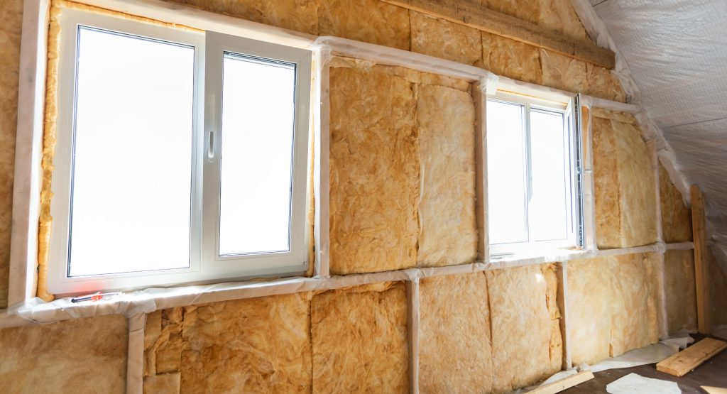 Insulation inside a home