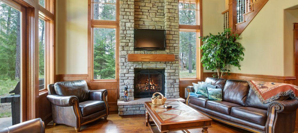 Home livingroom interior